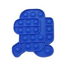 Pop It Антистрес Іграшка - (Піп Ит - Попит - Popit) - Синій Амонг Ас Біжить