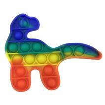 Pop It Антистресс Игрушка - (Поп Ит - Попит - Popit) - Радужный Динозавр