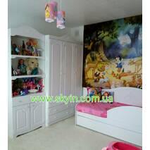 Белый гардеробный шкаф София в детскую комнату