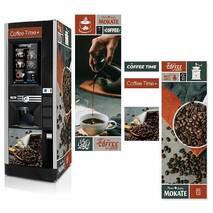 Наклейка на кофейный автомат Rheavendors Luce x2 touchTV