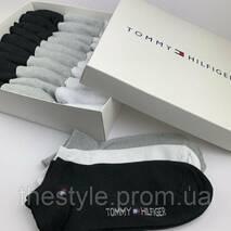 Набор мужских носков Tommy Hilfiger(30штук) в фирменной коробке.