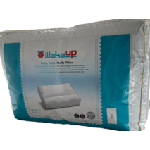 Подушка WakeUp Fluffy  ортопедична баллфайбер 40*60*12 см біла