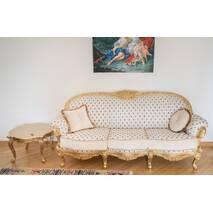 Диван з кріслом Вероніка і журнальний столик Бароко стиль