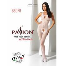 Бодистокинг Passion BS078 white