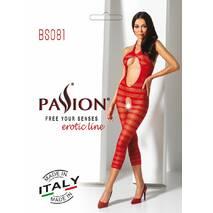 Бодистокинг Passion BS081 red