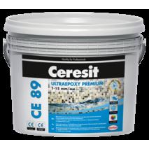 Ceresit CE 89 Ultraepoxy Premium Епоксидний двокомпонетний заповнювач швів та клей для плитки 859 димчастий топаз