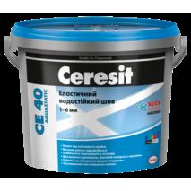 Ceresit CE 40 Aquastatic Эластичный водостойкий цветной шов до 6 мм серый 07