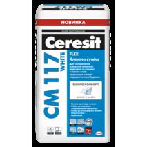 Ceresit СМ 117 white Клеюча смесь для мрамора и мозаики Marble Mosaic