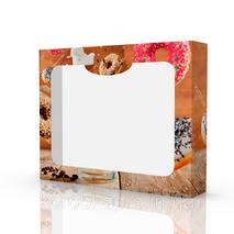 Упаковка для кексов и донатов под заказ