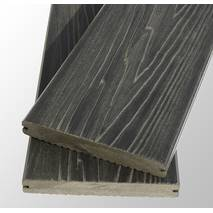 Террасная доска TardeX PROFESSIONAL BRUSH (массив) 150х20х2200  цвет Антрацит
