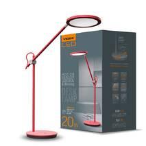 LED лампа настольная VIDEX TF15R 20W 4100K красная