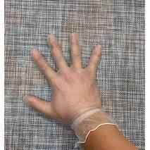 Рукавичка нитрил-вініл 100шт M / АТ70-M