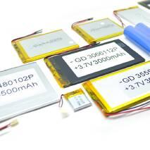 Літій-полімерний аккумулятор 4 * 60 * 80mm (Li - ion 3.7В 3000мА·ч)