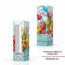 Тубус картонный для сувениров 90х90х285 мм под заказ