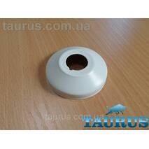"Белый декоративный фланец конус White размер D64 мм х высота 18 мм, внутренний размер 1/2"" (20 мм) ThermoPulse"