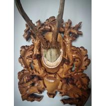 Медальйони з натуральними рогами