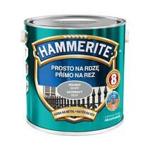 Краска Hammerite полуматовая серая 2,5 л.