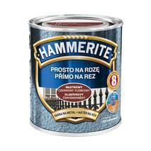 Краска на ржавчину Hammerite молотковая кирпичная 0,7л.