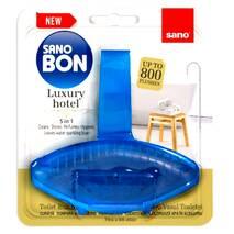 Блок для унитаза освежающий Sano bon Luxury Hotel до 800 сливов 55 гр.