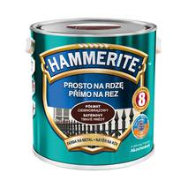 Емаль Hammerite напівматова темно-коричнева 2,5 л.