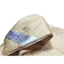 Одеяло из верблюжьей шерсти Kunmeng полуторное 150-215 см 2.5 кг