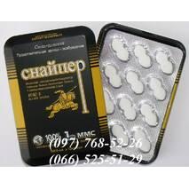 Снайпер - препарат для потенции, 12 табл.
