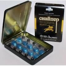 Снайпер - препарат для потенции, 10 табл.