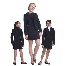 """Пиджак школьный для девочки м-1090 рост 116 128 134 140 146 152 158 164 и170 черный тм """"Попелюшка"""""""