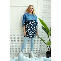 Рубашка Miledi Челси темно-синий