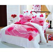 Комплект постільної білизни Le Vele Valentine Classic series сатин 220-200 см