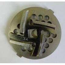 Нож и решетка (сетка)  для мясорубки POLARIS PMG 2038
