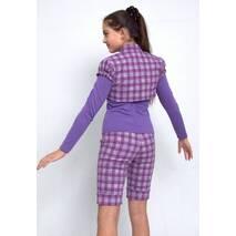 """Костюм для девочки тройка, состоит из гольфа, жилета и шорт М-828 рост 128 и 158 тм """"Попелюшка"""""""