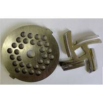 Нож и решетка (сетка)  для мясорубки POLARIS PMG 1726