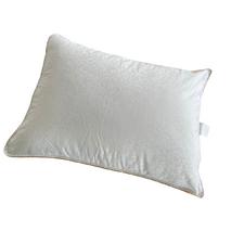 Подушка WakeUp Selected жаккард нанофайбер 50-70 см біла
