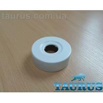 """Білий високий декоративний фланець ThermoPulse White D62 / висота 19 мм, внутрішній розмір 1/2"""" (d20 мм)"""
