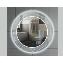 LED Дзеркало Vivia 181 Кругле (600х600)