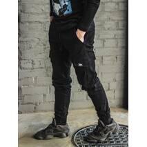 Штаны Черные Basic Custom Wear M