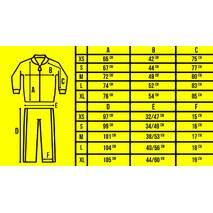 Штаны Custom Wear с лампасами Black/Yellow XS