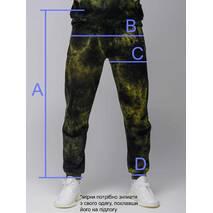 Штаны спортивные Neo черные с рефлективом Custom Wear XS