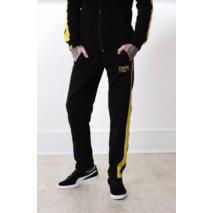 Штаны Custom Wear с лампасами Black/Yellow S