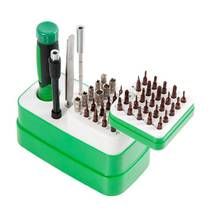 Набор инструментов BAKU BA - 3039 (ручка с трещоткой, 2 удлинителя, пинцет прямой, присоски, 2 медиатора, 48 насадок)