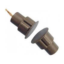 Врезной магнітоконтакт коричневый, ток 60ma, напряжение 12b, тип контактов Н / Из, рабочее расстояние 18 ± 5% мм, габаритные размеры d24 * 12