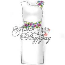 Заготівля сукні для вишивки бісером