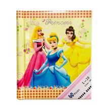 """Фотоальбом """"Disney princess"""" на 20 магнітних листів (Жовтий)"""