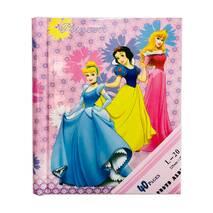 """Фотоальбом """"Disney princess""""на 20 магнитных листов (Розовый)"""