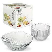 Набір скляних салатників Pasabahce Султана 1 6шт 97772