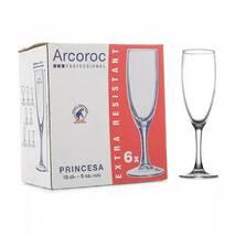 """Набір келихів для шампанського Arcoroc """"Princesa"""" 150 мл (P3999)"""