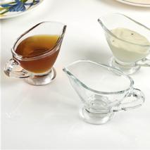 Соусники маленькі скляні з ручкою 2 шт Pasabahce Басик 60 мл (55002)