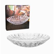 """Большое глубокое стеклянное блюдо 30 см """"Эридан"""" HLS (5102)"""