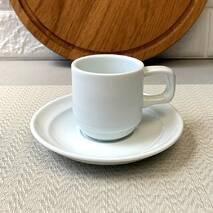 Кавова чашка  Horeca HLS 90 мл   блюдце (HR1326)